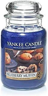 Yankee candles co. Blueberry Muffin Large Jar,Fresh Scent
