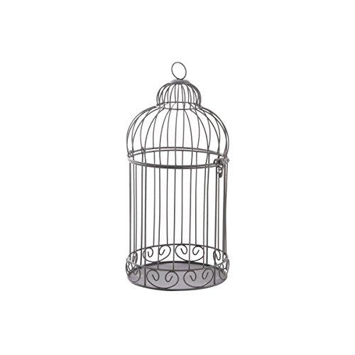 Nostalgischer Vogelkäfig / Metall / zum aufhängen (Durchmesser 15 cm Höhe 34 cm)