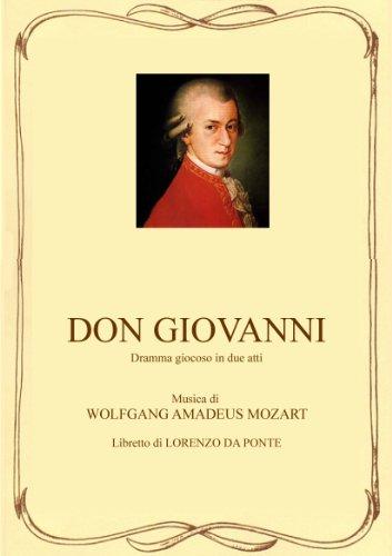Don Giovanni - Libretto d'opera