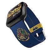 Harry Potter – Cinturino per smartwatch Hogwarts – Licenza ufficiale, compatibile con Apple Watch (non incluso) – adatto a 38 mm, 40 mm, 42 mm e 44 mm