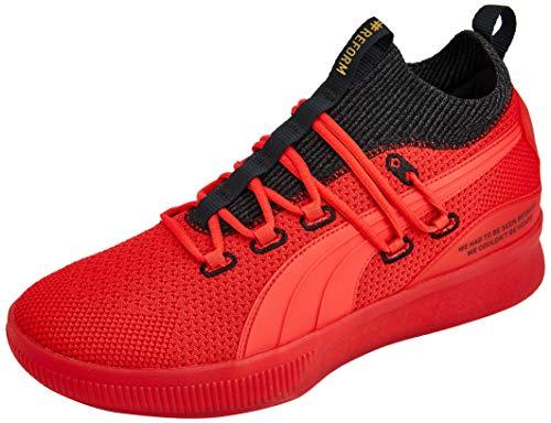 PUMA Men's Clyde Court Reform Sneaker, High Risk Red, 11 M US