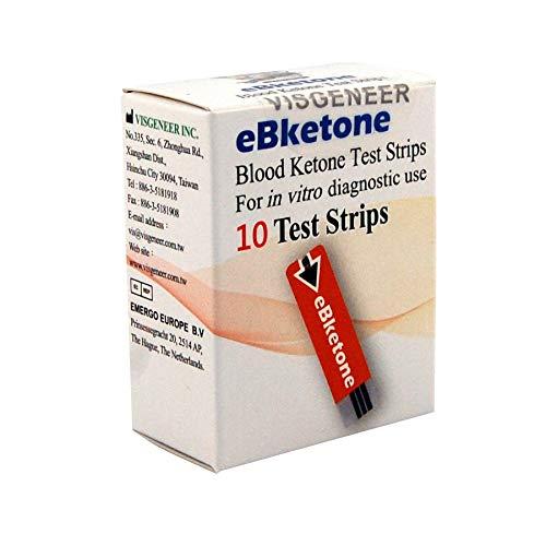 eBketone Blutketon-Teststreifen für eBketone, 50 Stück