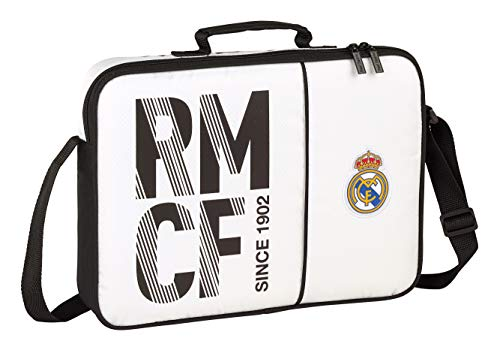 Real Madrid CF Bolso maletín Cartera extraescolares