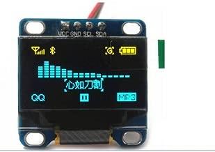 "REES52 0.96"" Inch Yellow Blue I2C IIC Serial OLED LCD LED Module 12864 128X64 for Arduino Display 51 MSP420 STIM32 SCR"