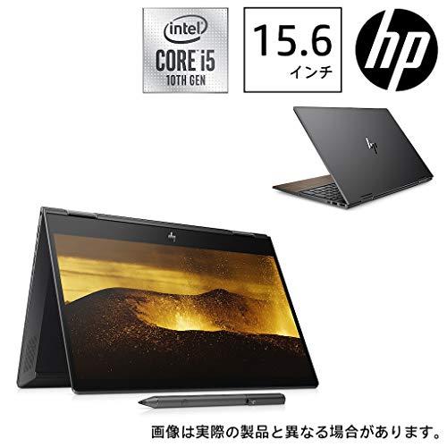 HP(エイチピー) 15.6型ノートパソコン HP ENVY x360 15-dr1011TU ナイトフォールブラック & ナチュラルウォールナット(i5/8GB/512GB/Optane) 8VB38PA-AAAA