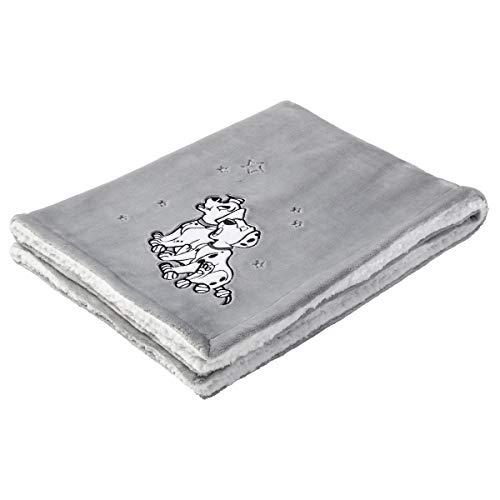 DISNEY - Manta Bimaterial, 75 x 100 cm, 1 Unidad