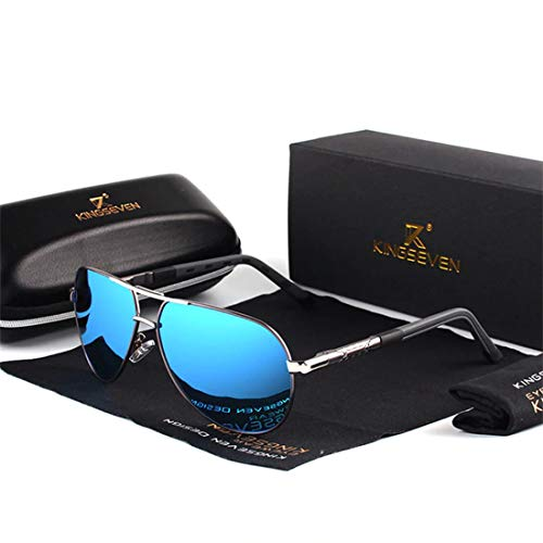 sqer KINGSEVEN Aluminum Magnesium Men's Sunglasses Polarized Men Coating Mirror Glasses oculos Male Eyewear Accessories For Men K725