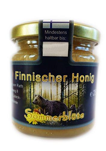 Finnischer Honig, Sommerblütenhonig, cremig, 250g