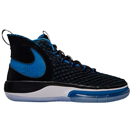 Nike AlphaDunk - Zapatillas de baloncesto, Azul (Negro/Foto Azul-blanco), 45 EU