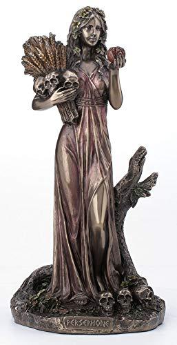 Veronese Design 10.25 Inch Persephone Greek Goddess of Vegetation and The Underworld Antique Bronze Finish Statue
