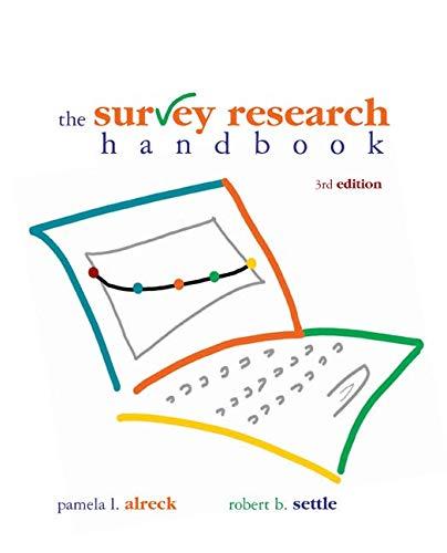 The Survey Research Handbook, Third Edition