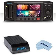 Aja Ki Pro Ultra Plus Multi-Channel 4K/UltraHD/2K/HD Recorder and Player - Bundle Pak Dock for Ki Pro Quad Pak SSDs, Microfiber Cloth