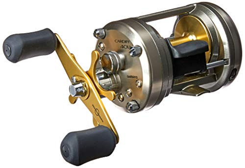 SHIMANO Cardiff 401 A Lefthand Baitcast Fishing Reel, CDF401A