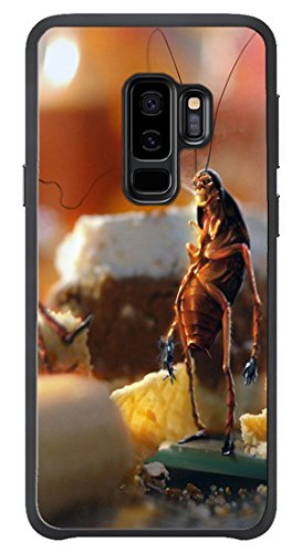 VUTTOO Case for Samsung Galaxy S9 Plus Only - April Fools Day Cockroaches Bread Kitchen Case - Shock Absorption Protection Phone Cover Case