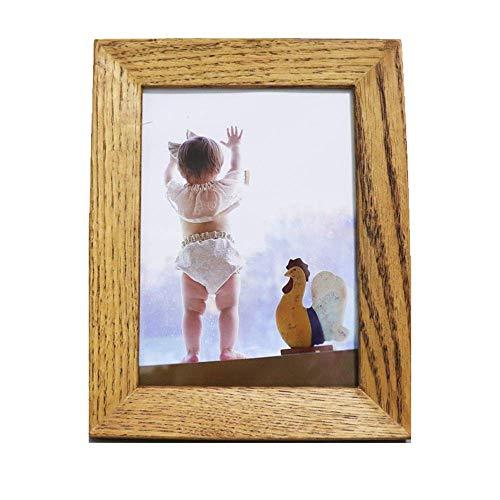 LUXMAX Hermosa Imagen de la Foto de la Foto de la Foto de la Foto de la Foto de la Foto Moms de cumpleaños Regalos de cumpleaños para mamá Niños (Color: Marrón, Tamaño: 10 Pulgadas)