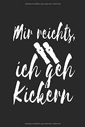 Tischkicker Notizbuch: Tischkicker Notizbuch, Journal, Planer, 120 Seiten, 6x9