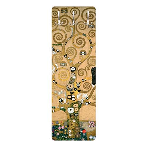 Bilderwelten Appendiabiti a Parete Salone Moderno - Gustav Klimt Albero della Vita 139 x 46cm