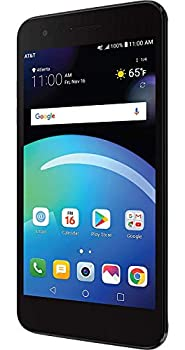 LG Phoenix 4 Smartphone 4G LTE Android 7.1 OS 16GB Black for AT&T Prepaid