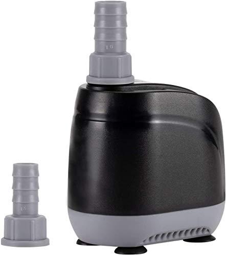 hygger 50W Pompa Acqua Acquario, 3500L/H Pompa sommergibile, per Acquario, Stagno, Fontana, Coltura Idroponica