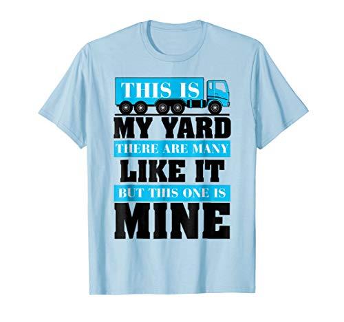 This is my yard, there are many like it this one is mine