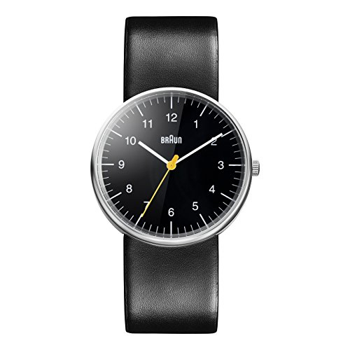 Braun Herren Analog Quarz Armbanduhr BN0021BKBKG