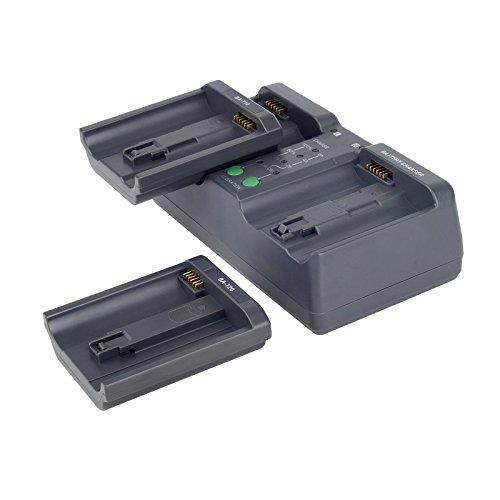 Bevik Dual Camera Battery Charger MH-26 For Nikon D5 D4 D4S EN-EL18 EN-EL4A EL4 Canon 1D IV 1Ds III LP-E19 LP-E4 LP-E4N