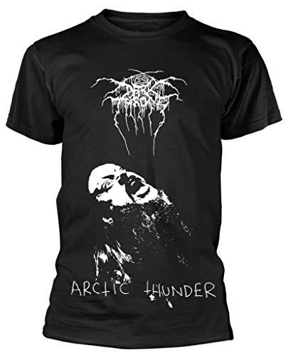 FOR Darkthrone 'Arctic Thunder' T Shirt Camisetas y Tops(X-Large)