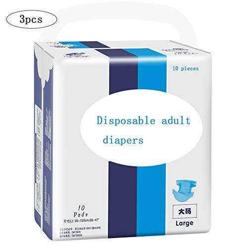 Volwassen Incontinentie Broek Luiers Dikke Anti-Side Lekkage Ventilatie Voor Mannen En Vrouwen Ouderen Zwangere Vrouwen Geschikt Voor Heupen 95-120cm