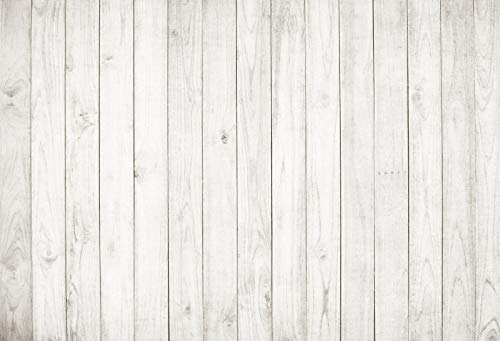 Yeele 7x5ft Vintage Wood Backdrop Retro Rustic White and Gray Wooden Floor Background for Photography Kids Adult Photo Booth Video Shoot Vinyl Studio Props