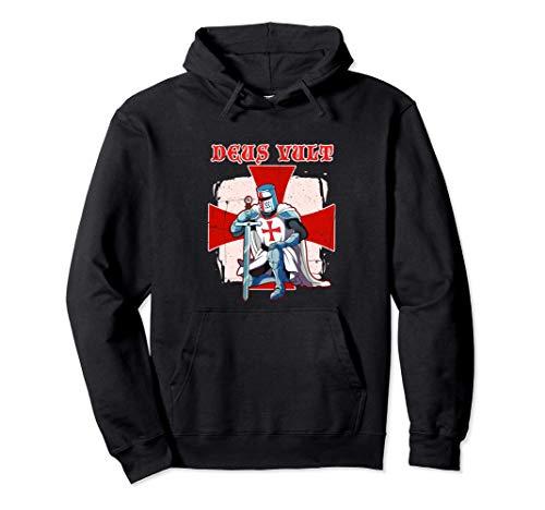 Caballero Templario Cruz Regalo Caballeros Templarios Sudadera con Capucha