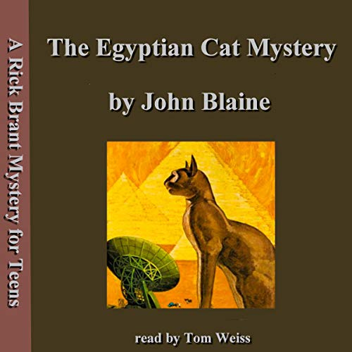 The Egyptian Cat Mystery cover art