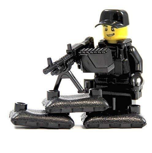 Markenwelt-Voegele Custom Scharfschütze aus Lego® Teilen mit Custom Zubehör mit Waffe