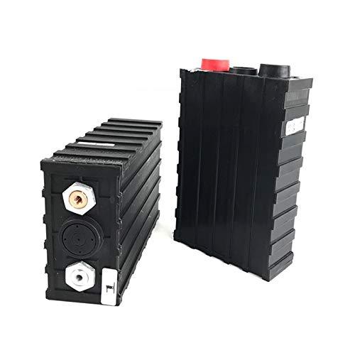 GJZhuan Paquete De Baterías De Litio Lithium De 4PCS Recargable 3.2V 200AH LIFEPO4, para 12V Sistema Solar Camping RV