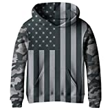 SAYM Teen Boys' Galaxy Fleece Sweatshirts Pocket Pullover Hoodies 4-16Y NO15 M