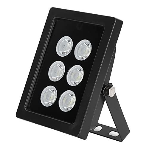 Cameralicht, IP66 Waterdicht Aluminiumlegering 6W DC12V Automatisch Dag- en Nachtvullicht met 6 stuks LED-lampkralen…