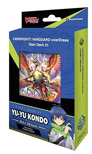 Cardfight!! Vanguard VGE-D-SD01 Yu-yu Kondo Starter Deck English - 50 Cards