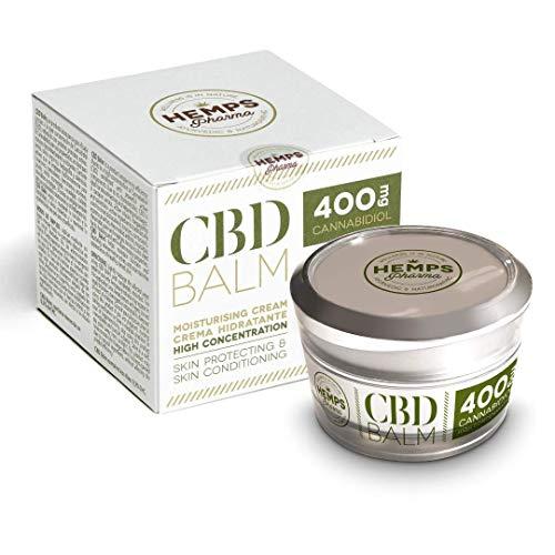 Zeer Effectieve Hennep Crème | CBD-crème (400 mg Cannabidiol) voor de Verlichting van Spierpijn en Gewrichtspijn - 50 ml | Hemps Pharma - CBD Balm Strength