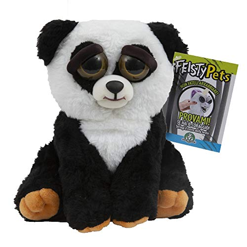 Giochi Preziosi Feisty Pets Plüsch Panda Mehrfarbig