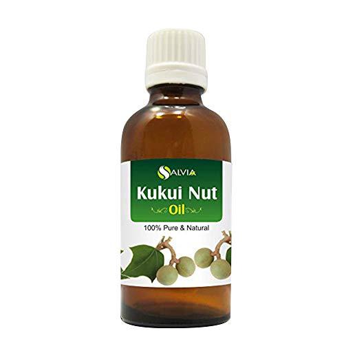 Aceite de nueces KUKUI 100% natural, sin cortar, 30 ml