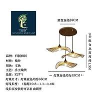 2020 Latest Design 主要な創造的な長い手のモデリングランプ東南アジア竹灯シャンデリア、個々のアートショップ禅のティールーム,月35のヘッドセンチ