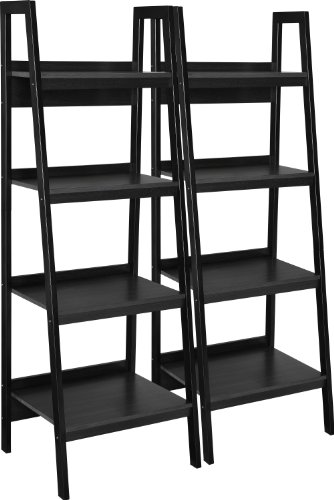 Altra Lawrence four-shelf ladder bookcase