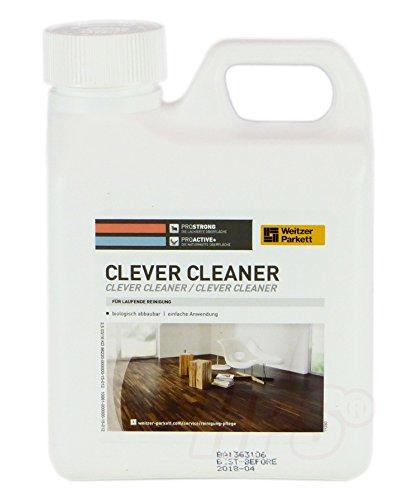 Weitzer Parkett Clever Cleaner für Weitzer Parkett - Parkettreiniger für ProStrong und ProActiv Oberflächen von Weitzer Parkett
