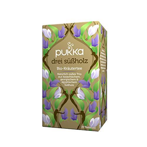 Pukka Bio-Tee Drei Süßholz 80 Teebeutel, 4er Pack (4 x 20 beutel)