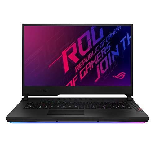 """ASUS ROG Strix Scar 17 Gaming Laptop, 17.3"""" 300Hz FHD IPS Type Display, NVIDIA GeForce RTX 2080 Super, Intel Core i9-10980HK, 16GB DDR4, 512GB PCIe SSD, Per-Key RGB Keyboard, Win10 Pro, G732LXS-XS94"""