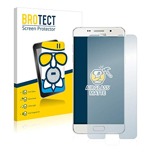 BROTECT Entspiegelungs-Panzerglasfolie kompatibel mit Samsung Galaxy A5 2016 - Anti-Reflex Panzerglas Schutz-Folie Matt