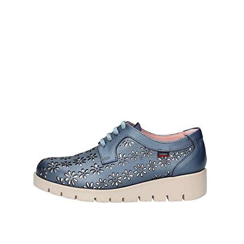 Callaghan Haman, Zapatos de Cordones Derby Mujer, Azul (Azul 1), 39 EU