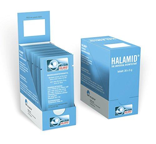 ecuphar 20x5g Halamid Desinfektionsmittel