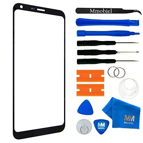 MMOBIEL Kit de Reemplazo de Pantalla Táctil Compatible con LG Q6 M700 Series 5.5 Pulg.(Negro) Incl. Kit de Herramientas