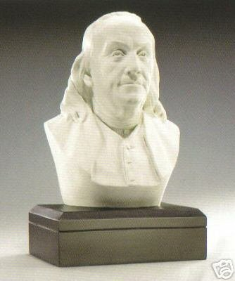 Sale - The Perfect Amazon Exclusive ! - Large Benjamin Franklin 11 Inch Bust - Founding Father