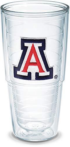 Tervis Emballé individuellement, verre, 680,4 gram, clair, Arizona Univ 24 oz claire